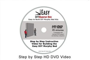 Easy Murphy bed video DVD