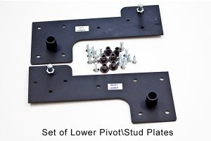 murphy bed lower stud hardware