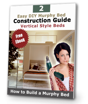diy murphy bed ebook popup