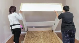 installing a Murphy bed