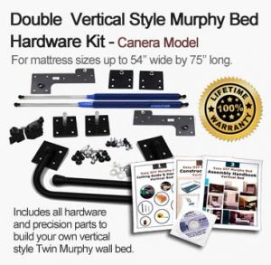 double or full size murphy wall bed kit
