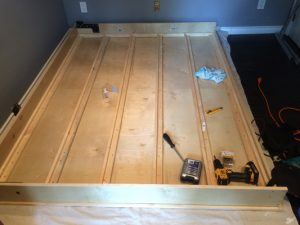 Marks diy wall bed frame