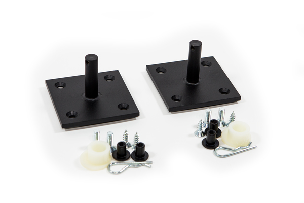 pivot plates for wall bed system