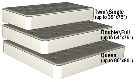 wall bed Canada mattress sizes