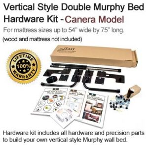 double size wall bed kit
