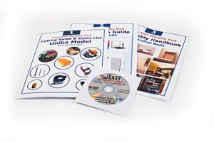 wall bed hardware mechanism guide books